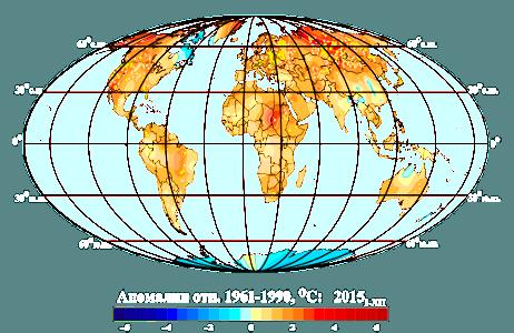 Мониторинг изменений климата Земного шара